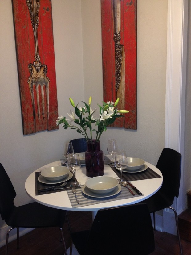 Our beautiful two bedroom two bathroom first floor apartment has everything for your comfort and great style.