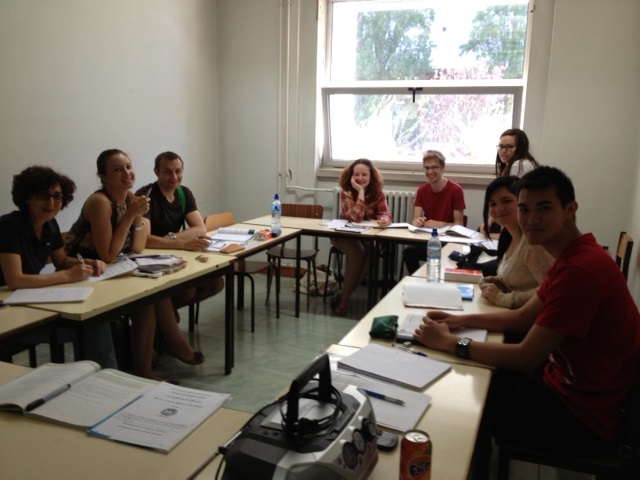 Portuguese classes at the University of Lisbon