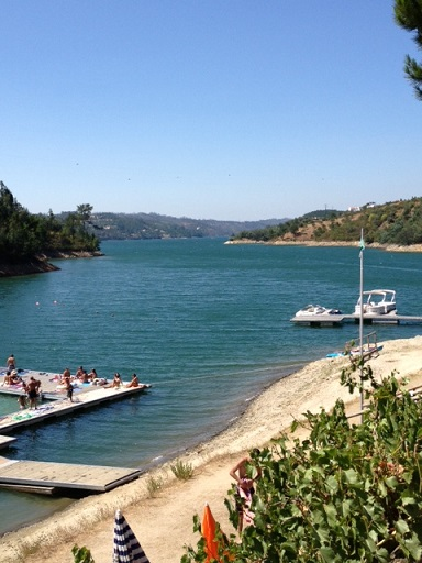 Aldeia do Mato: one of Portugal's inland beaches