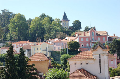 Beautiful Luso Portugal, a quaint spa town located 2 hours north of Lisbon