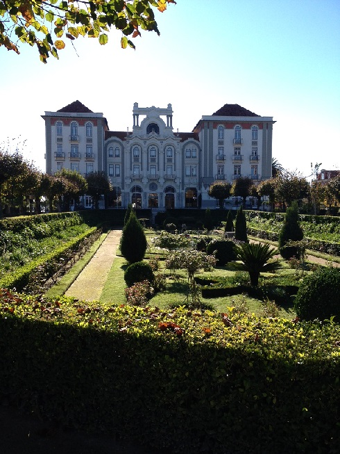 The Curia Palace is one of Portugal's most beautiful Palaces and a 'Jewel of the Golden 20's Art Nouveau era.'
