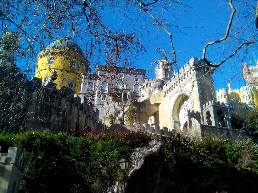 Sintra's Pena Palace is one of Portugal's most spectacular Castles