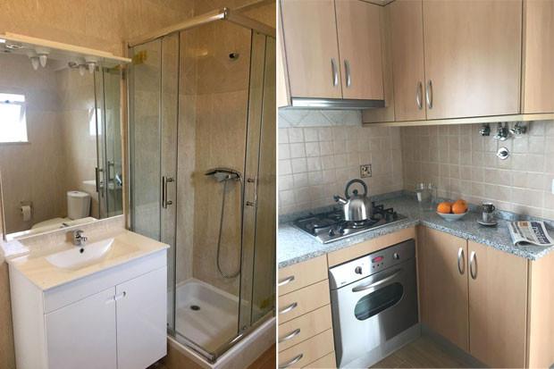 Third bathroom and Kitchen