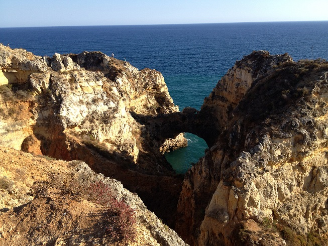 Lagos Algarve views on the Atlantic Ocean