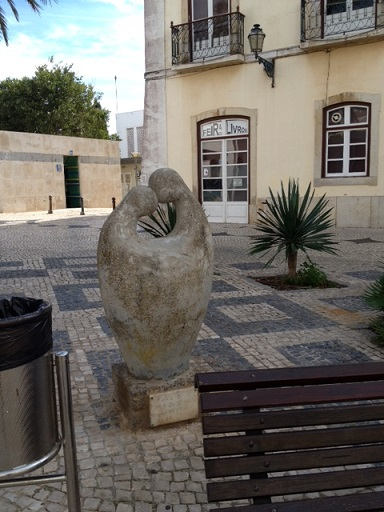 Modern artwork in Lagos Portugal